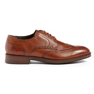 Wingtip dress shoes