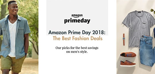 Amazon Prime Day: The Essential Men's Fashion Picks