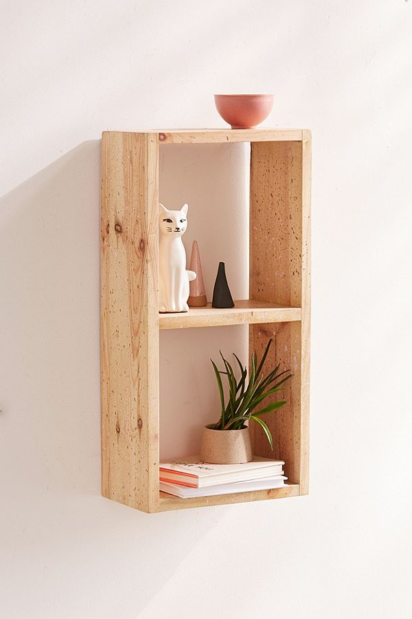 Image of wood shelf