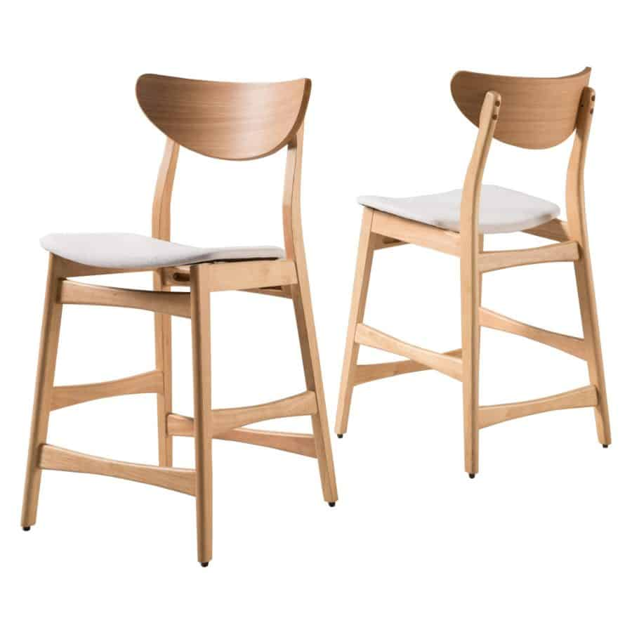 Image of two counter stools