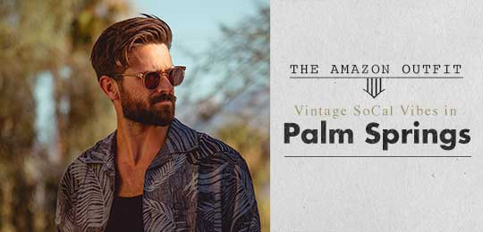 The Amazon Outfit: Vintage SoCal Vibes in Palm Springs
