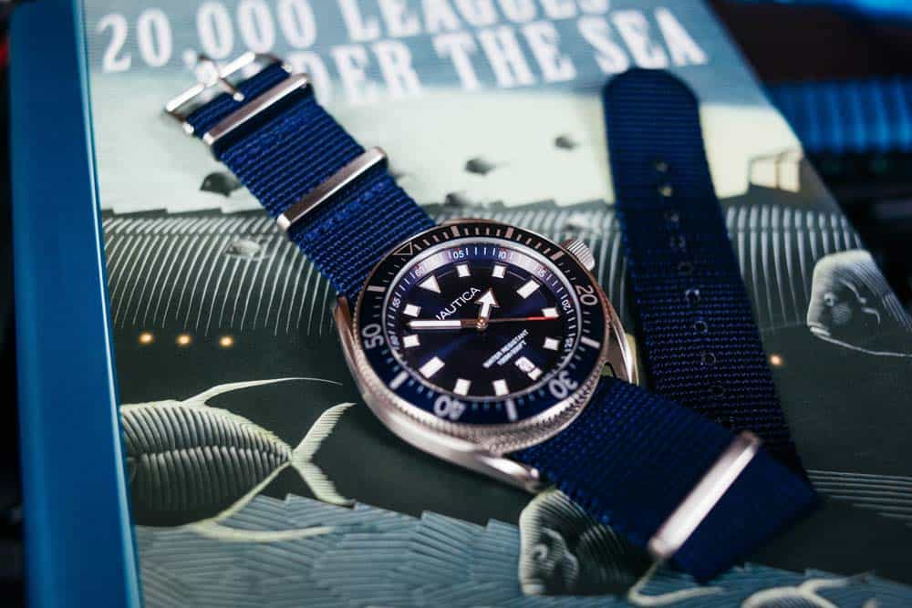 fashion dive watch nautica portofino