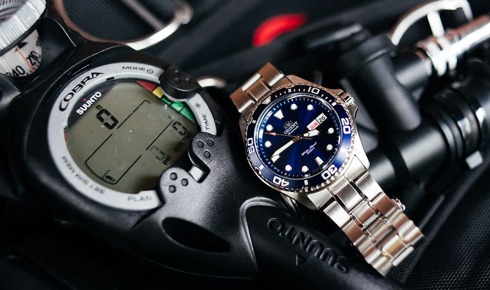orient ray ii dive watch review
