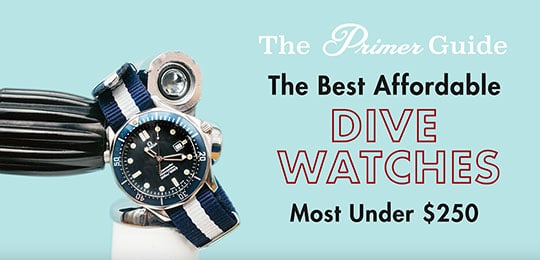 The best dive watches with a blue dive watch