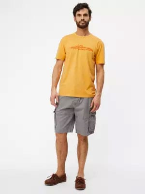 men tshirt chino shorts
