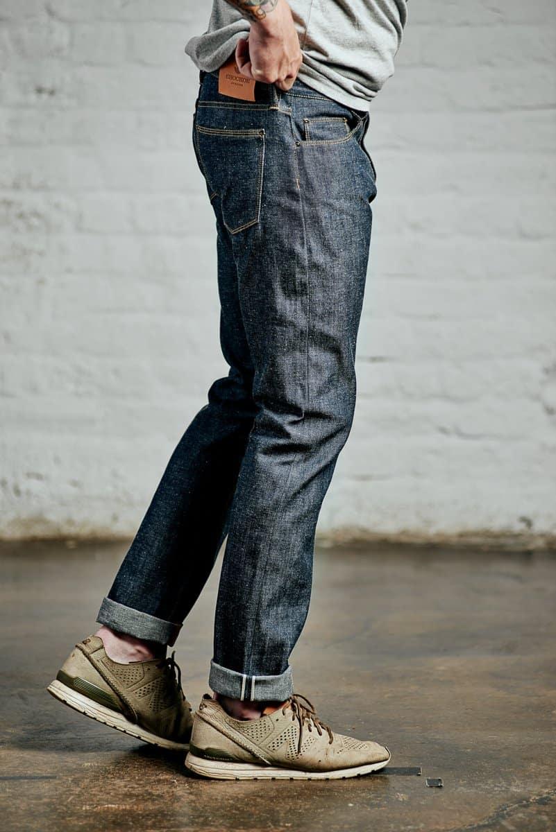 Image of slim Kojima lite jeans