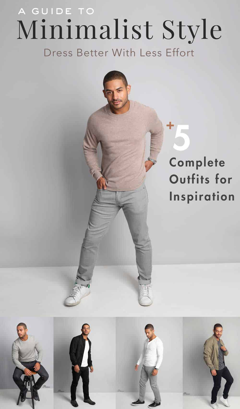 ecfbfe70862 Minimalist Fashion: Dress Better With Less Effort + 5 Complete Getups For  Inspiration!