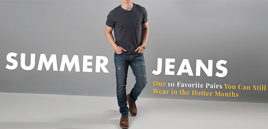 Summer Jeans: Our 10 Favorite Pairs You Can Still Wear in the Hotter Months