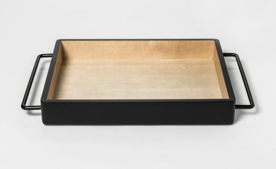 Image of Decorative Tray - Black - Room Essentials