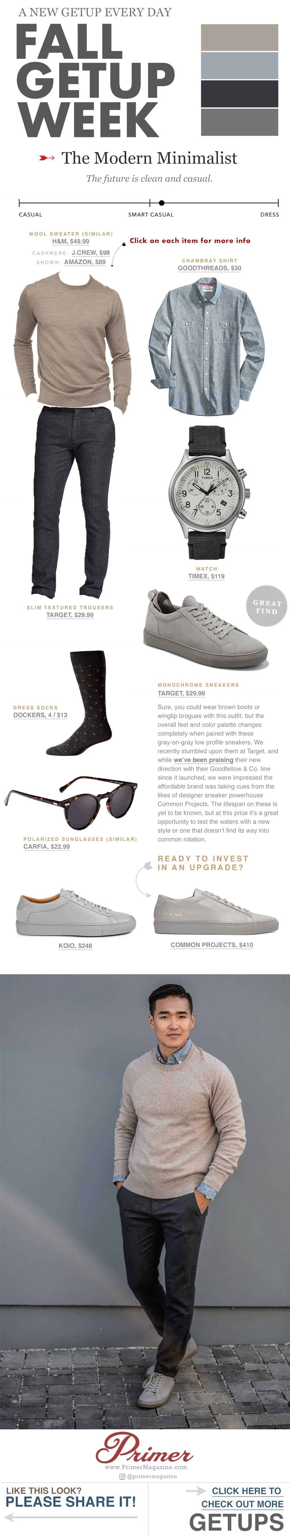 Fall Getup Week   Modern Minimalist Men's Fashion