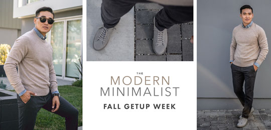 Fall Getup Week: The Modern Minimalist