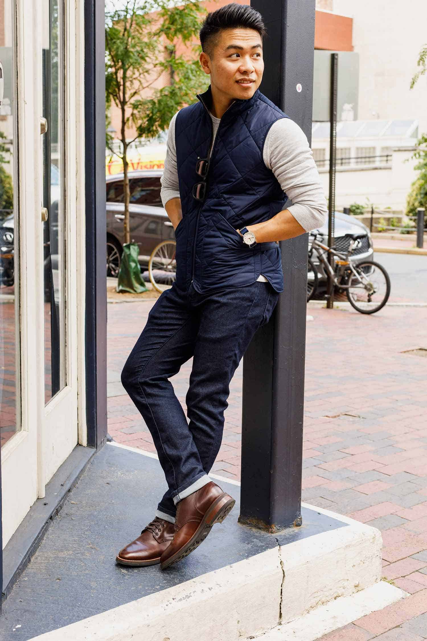 summer to fall men outfit