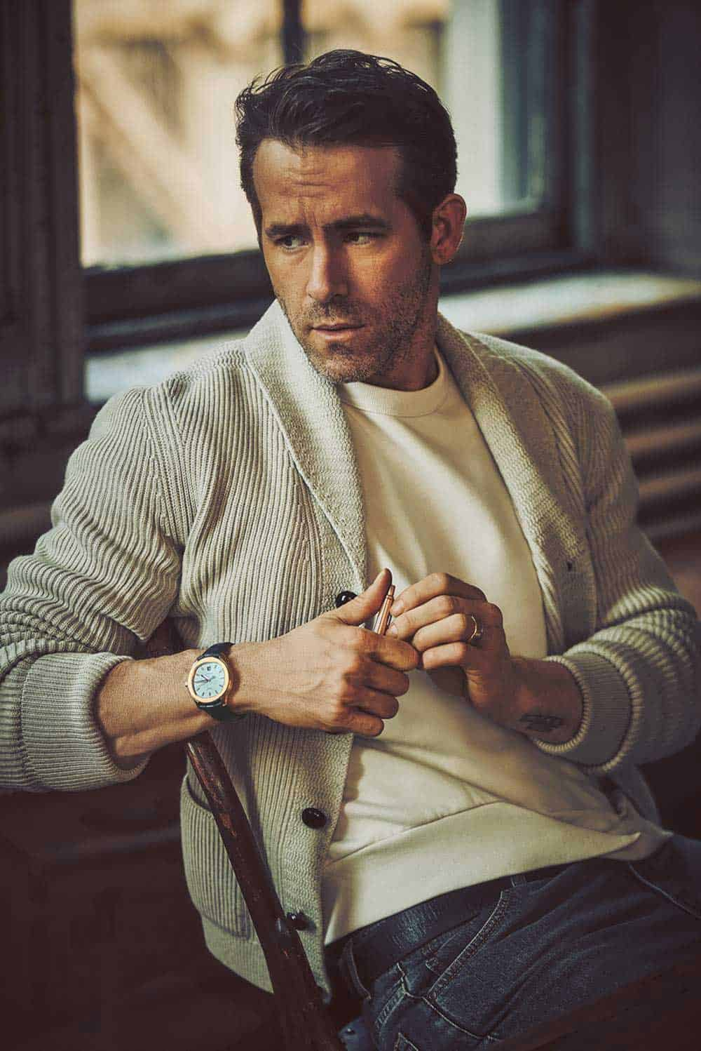Ryan Reynolds Smart Casual