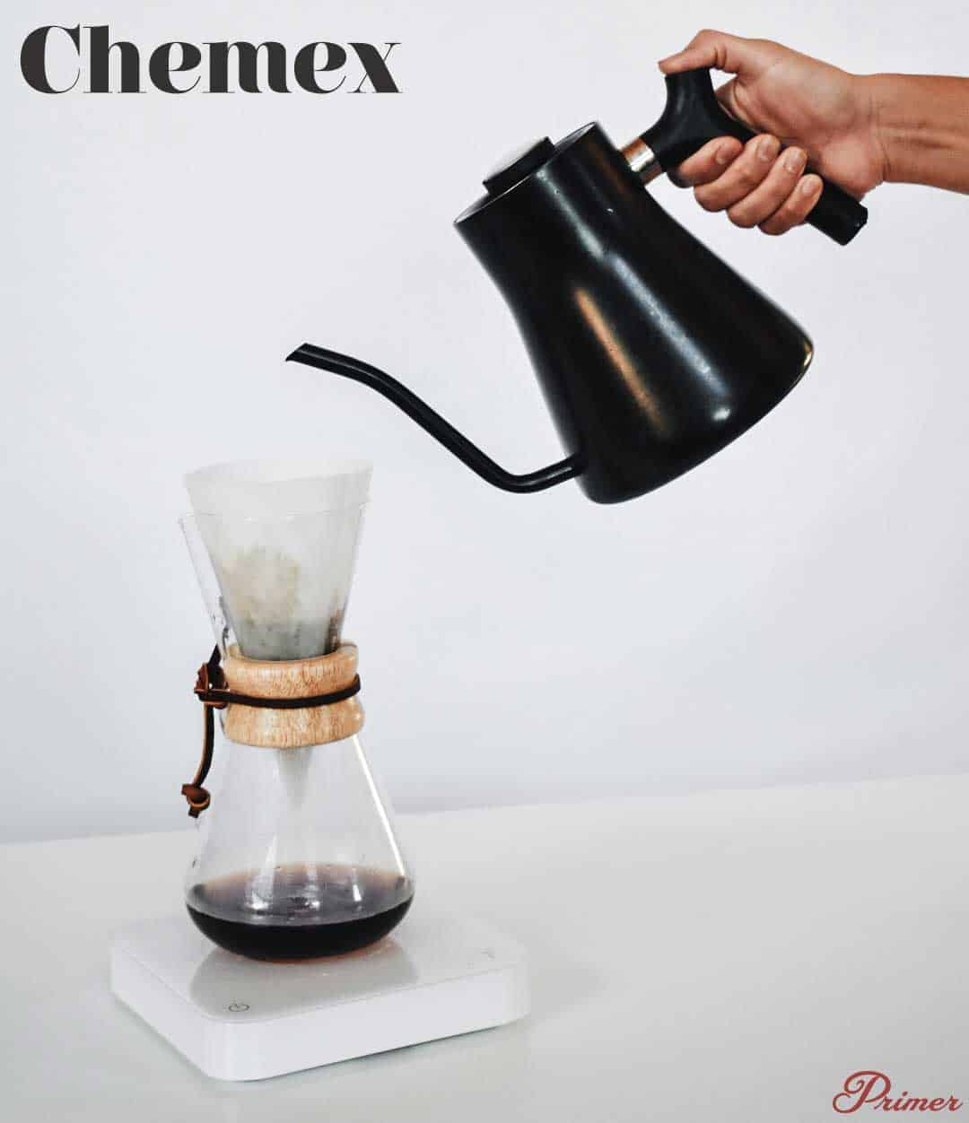 Chemex Pour Over dripper differences
