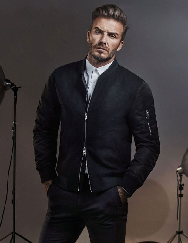 david beckham smart casual