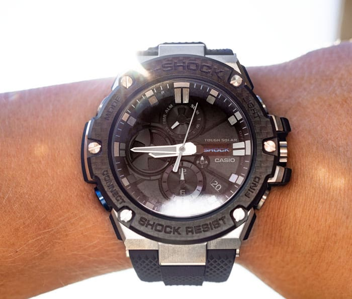 G-SHOCK G-STEEL carbon fiber