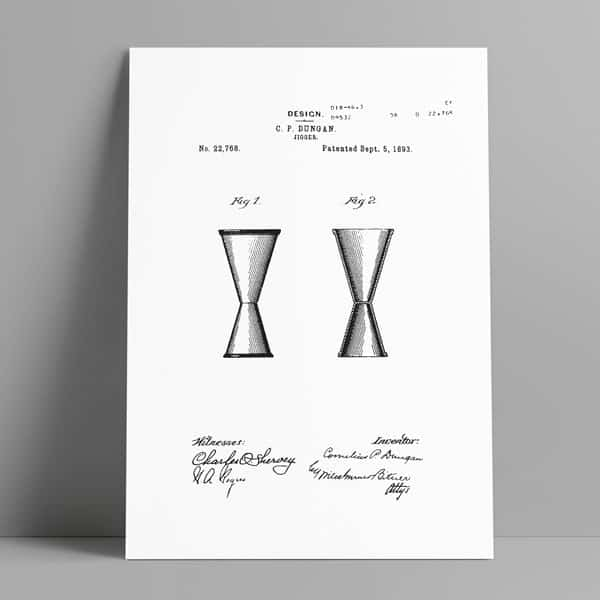 cocktail jigger patent art download