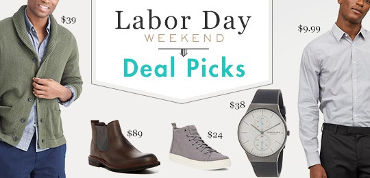 The Best Labor Day Weekend Style Deal Picks