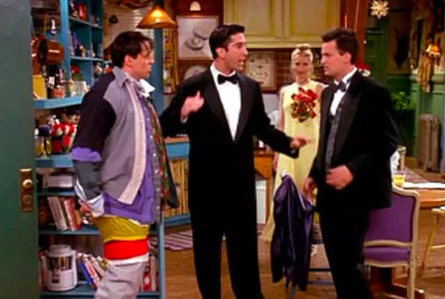 friends the one where no one is ready bottle episode
