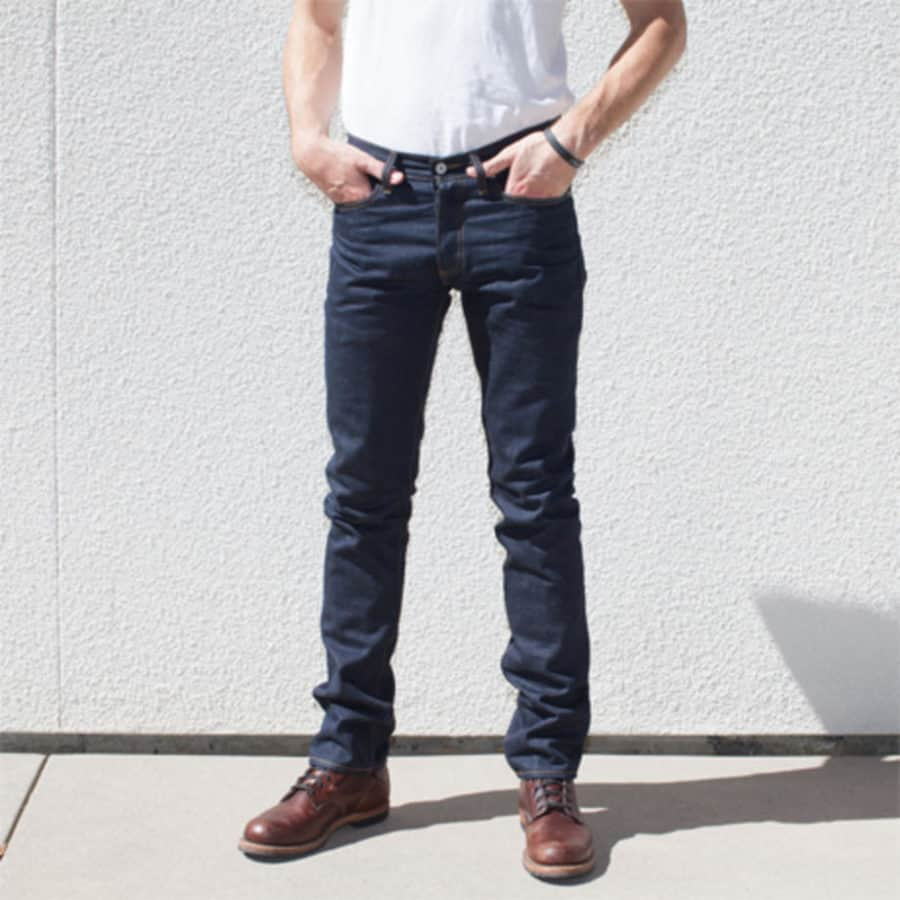 Image of Gustin Okayama Standard men's jeans