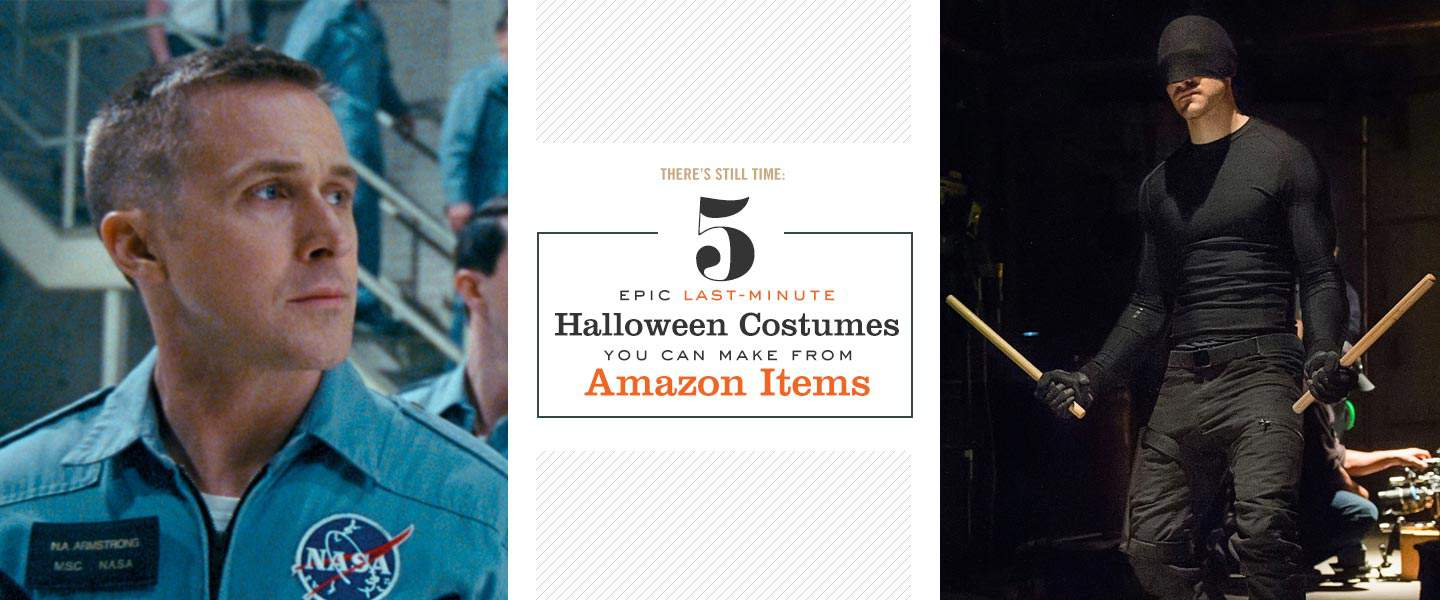 5 Epic Last-Minute Halloween Costumes You Can Make from Amazon Items