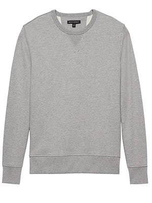 Gray crew sweatshirt