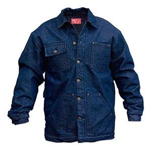 A blue shirt made of denim