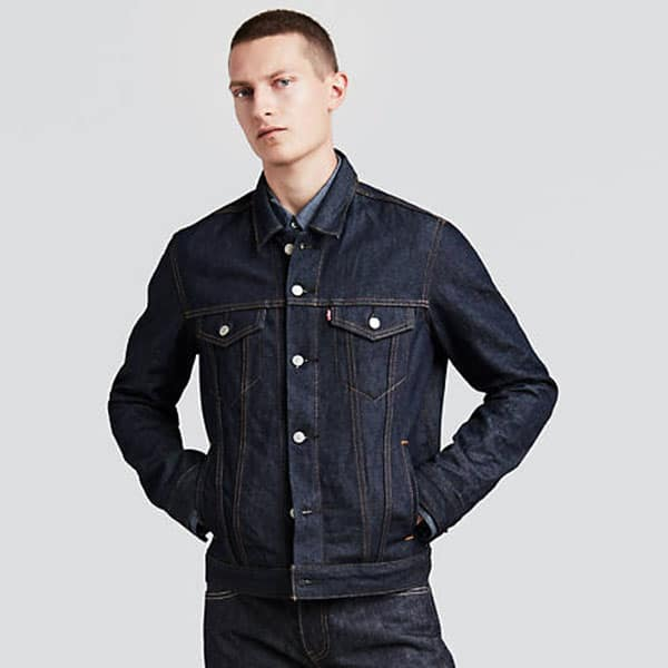 Image of Levi's trucker jacket