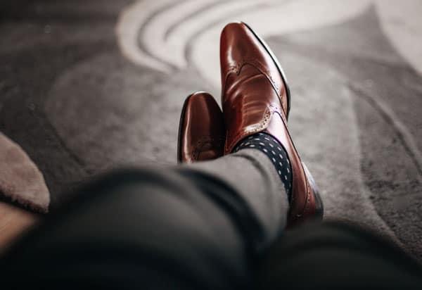 fun pattern socks men dress shoes