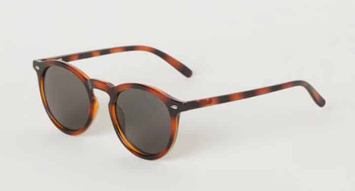 Image of H&M men's round sunglasses