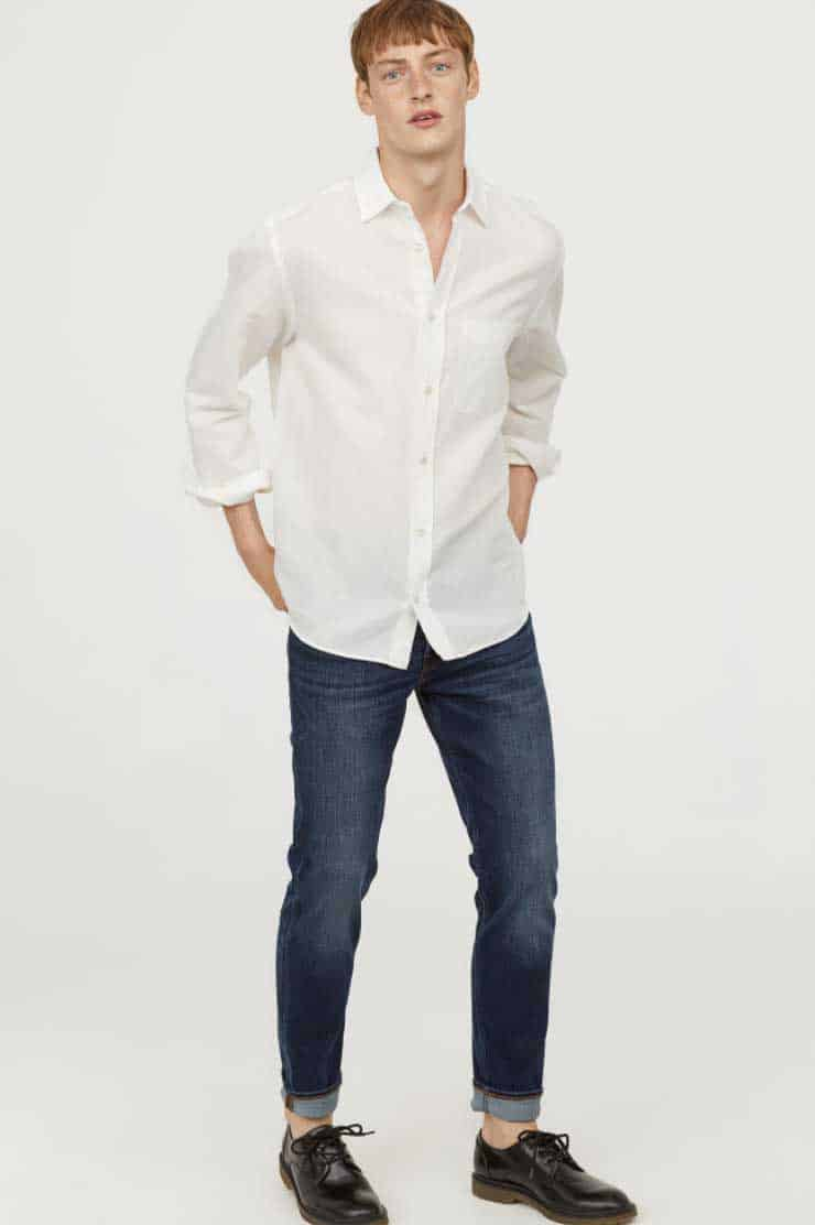 Image of H&M men's slim jeans