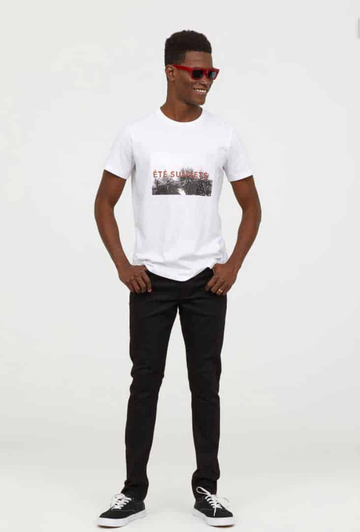 Image of H&M men's skinny jeans