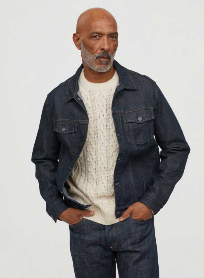 Image of H&M men's denim jacket