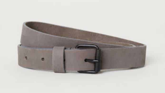 Image of H&M Nubuck belt for men