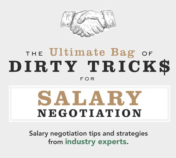 How to Negotiate Salary: The Ultimate Bag of Dirty Tricks