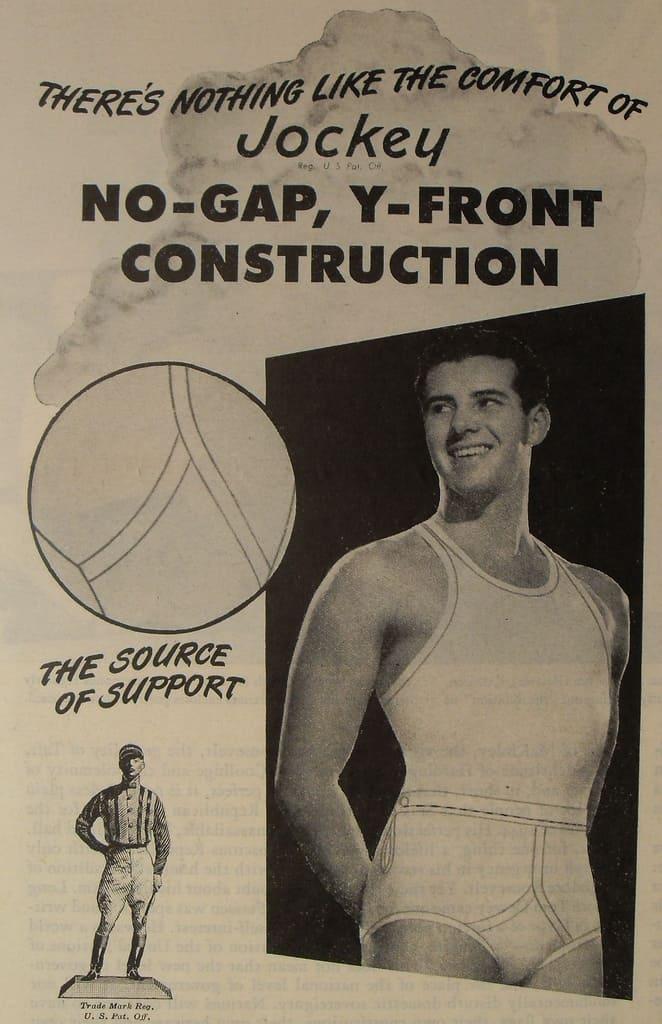 Vintage underwear ad