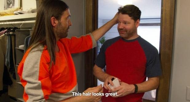 This hair looks great Queer Eye meme