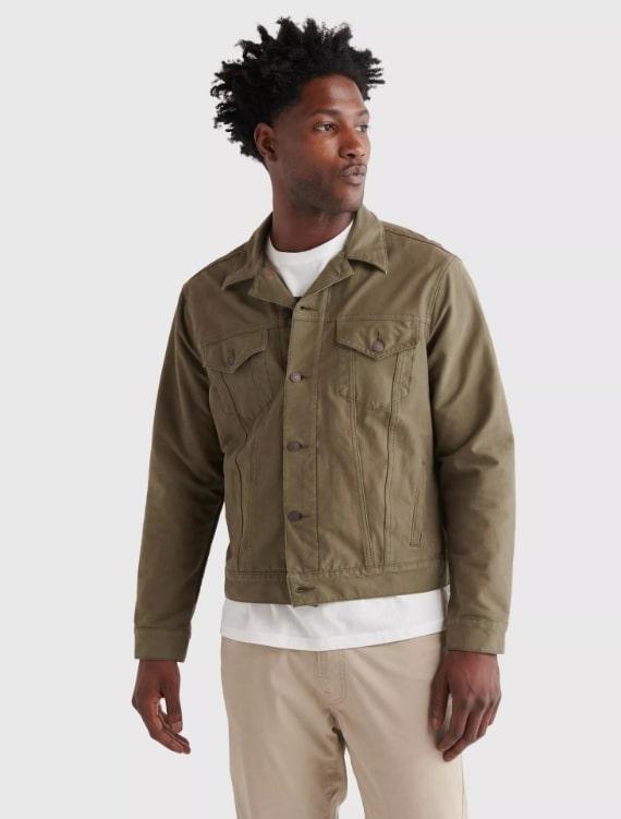 Lucky brand trucker jacket