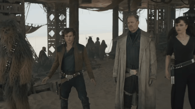 Han Solo and woody harrelson