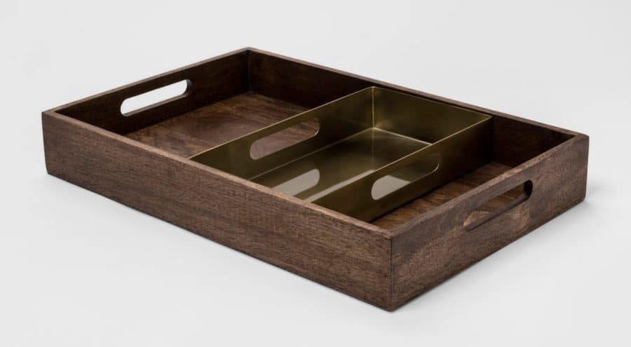 Image of decorative wood tray