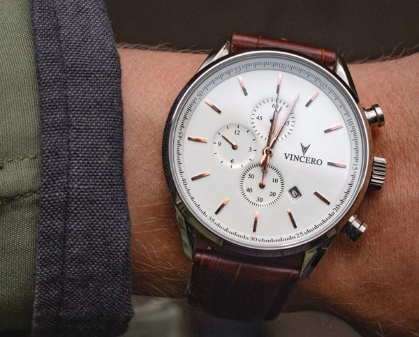 vincero watch chronograph
