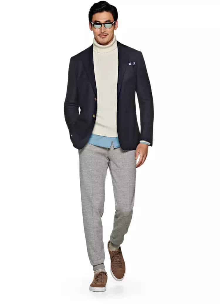 suitsupply navy jacket