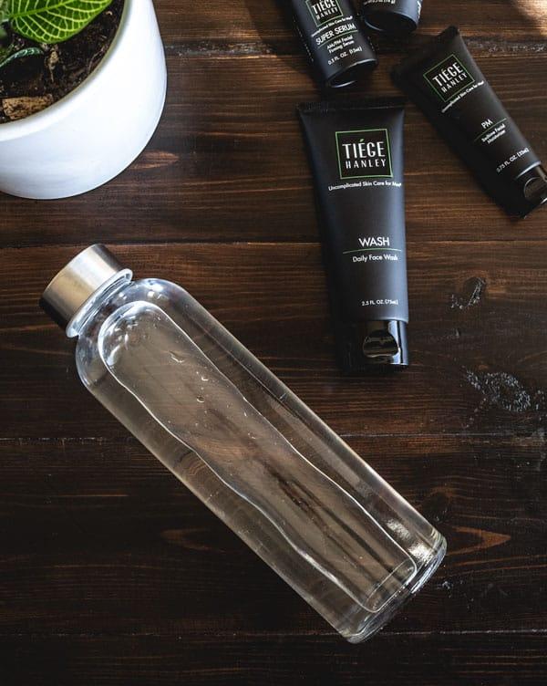 better skin drink water