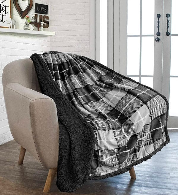 affordable plaid blanket
