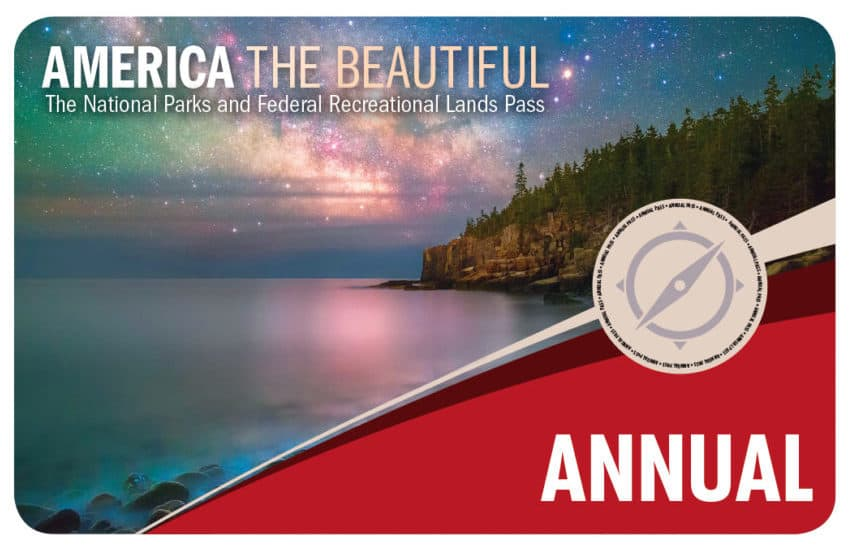Image of nation parks and federal recreational lands annual pass