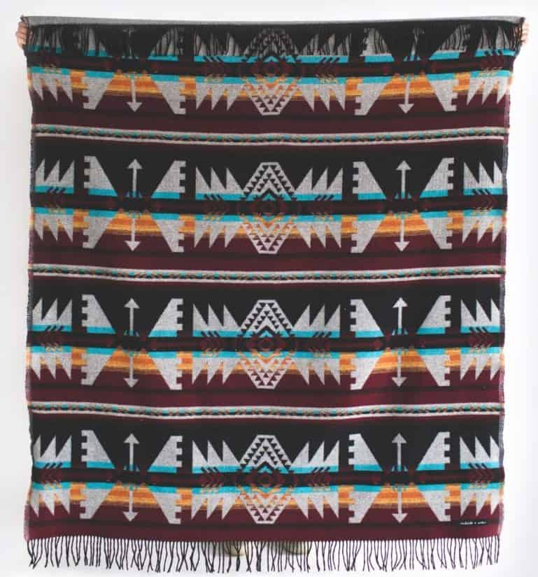Image of ARROW Maroon blanket