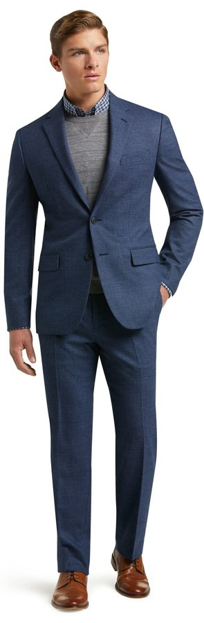 Image of Jos.A.Bank 1905 Collection Slim Fit Birdseye Suit