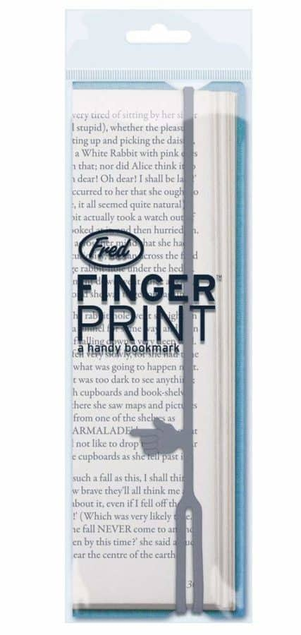 Image of Fred FINGER PRINT a handy bookmark, Random Color