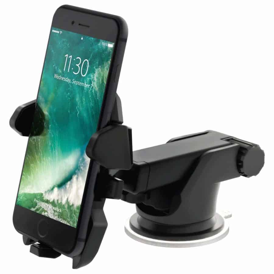 Image of iOttie Easy One Touch 2 Car Mount Universal Phone Holder for iPhone X 8/8 Plus 7 7 Plus 6s Plus 6s 6 SE Samsung Galaxy S9 S9 Plus S8 Plus S8 Edge S7 S6 Note 8 5