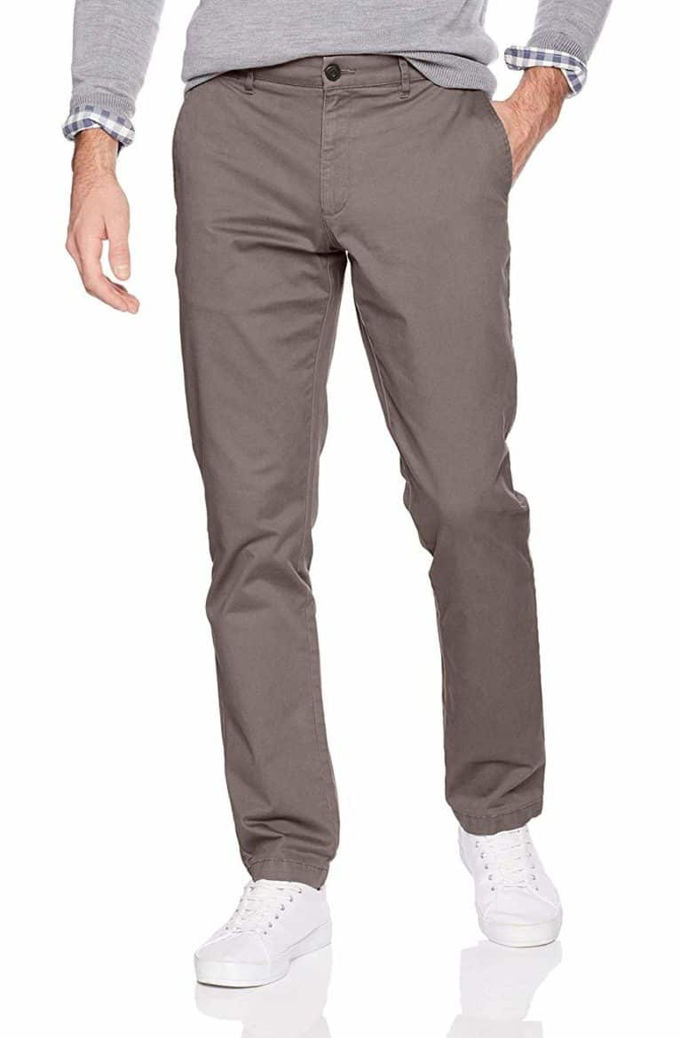 slim fit washed chinos by goodthreads